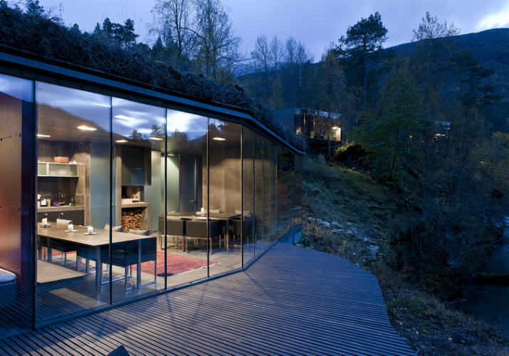<p>The place is billed as &quot;Europe's first landscape hotel.&quot;</p>