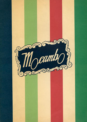 <p>Mocambo, c. 1945, Hollywood, California</p>