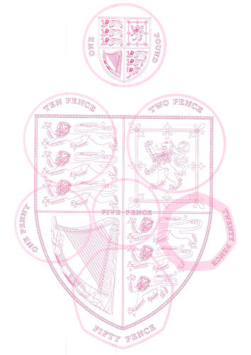 <p>Also, Matthew Dent's design for English currency is part of the show.</p>