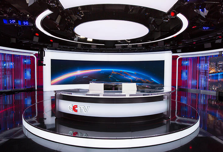 <p>The new CCTV studios, created by Jack Morton Worldwide, are designed to be the equivalent of the CNN of China--only with technology that has yet to be deployed in Atlanta. The studios  feature 40-foot-long, high-resolution, 4mm LED screens.</p>