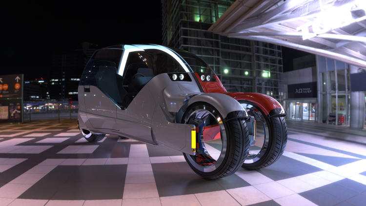 <p>The Lane Changer is a concept car, by Chipp Walters from argodesign.</p>