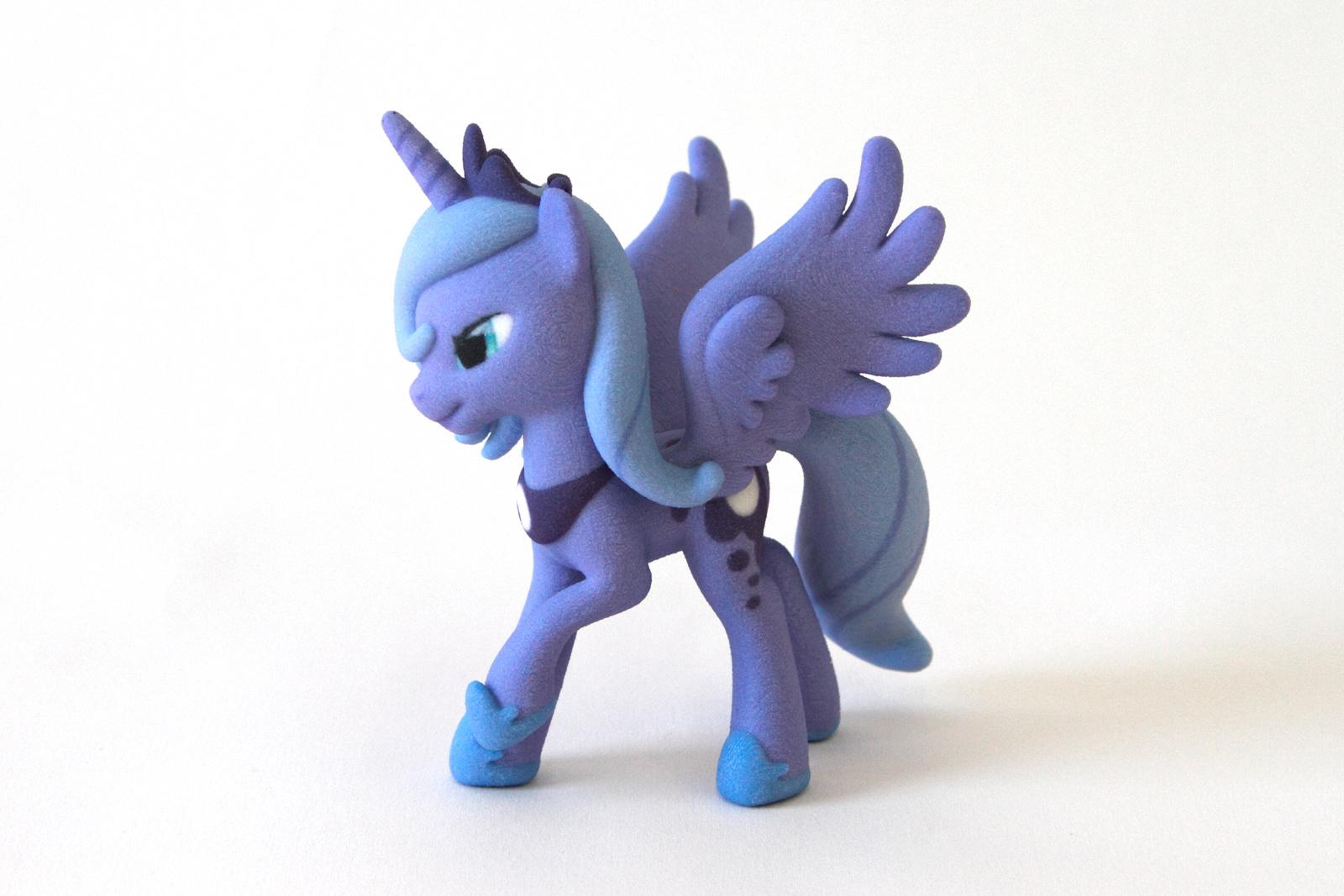 Mi pequeño pony impresión 3D