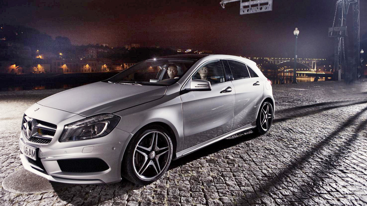 Mercedes benz adds twitter control to latest tv campaign for Mercedes benz twitter