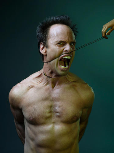 <p>From the GQ series: Walton Goggins</p>