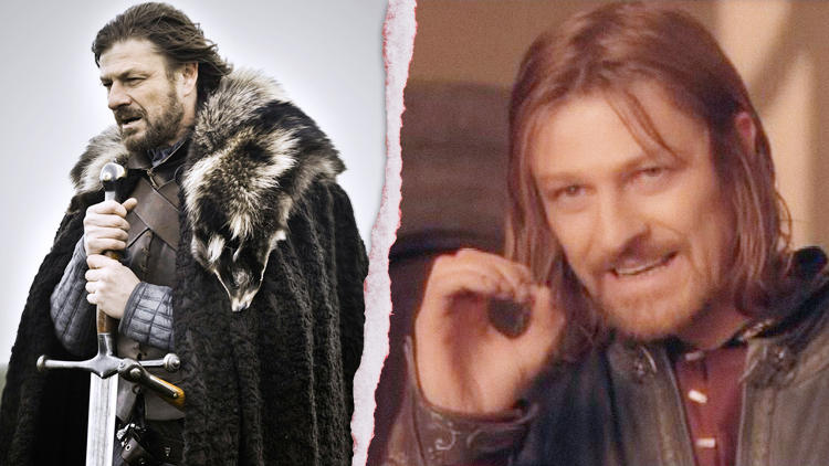 <p>Winner: Boromir.<br /> What these two characters have in common is that they are both played by Sean Bean. The disparity between them lies in the fact that Bean's <em>Lord of the Rings</em> character, Boromir, is an actual warrior, whereas his <em>Game of Thrones</em> counterpart is really more of a statesman.</p>  <p>Watch the interview with George R.R. Martin in the next slide.</p>
