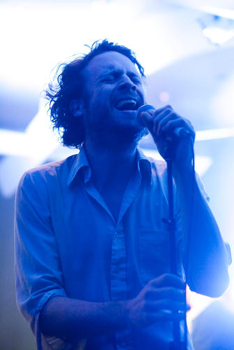 <p>Father John Misty interspersed humorous cruise jabs with energetic performances. Crowd-pleasing postulation: If in fact the world were to end and the passengers of the S.S. Coachella survived, the future of humanity would be left to a group of hipsters.</p>