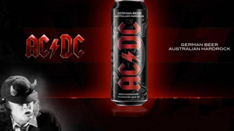 <p>The long-running Aussie rock outfit now has its own official brand of <a href=&quot;http://youtu.be/pkLLDBhpRmM&quot; target=&quot;_blank&quot;>beer</a>. Too bad it's only available for fans who live in Germany, for whom the highway to hell is connected to the Autobahn.</p>