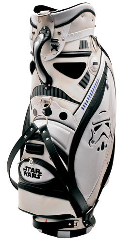 <p>Japanese <em>Star Wars</em> products are usually super-cool. Take this limited-edition Stormtrooper golf bag from Bridgestone. Only 500 were made. There's a companion Darth Vader bag too.</p>
