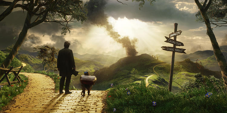 <p>Designer Stromberg deliberately crafted a surreal dreamlike look for Oz The Great and Powerful.</p>