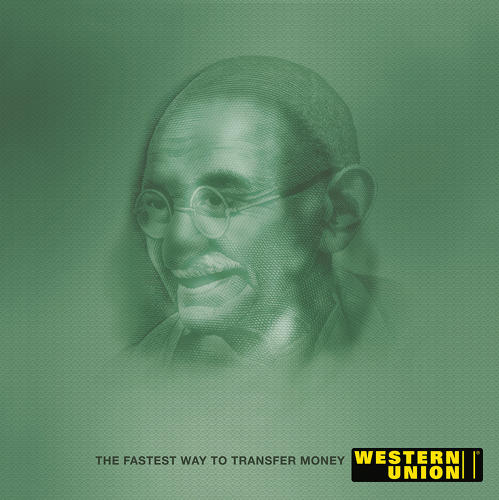<p>Western Union Money Transfer: &quot;Franklin Gandhi&quot;<br /> Agency: McCann Worldgroup India</p>