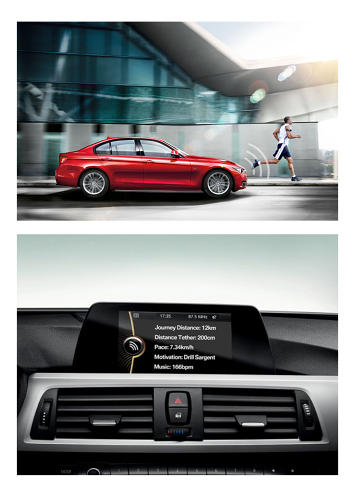 <p>Another detail from the fake BMW ad.</p>