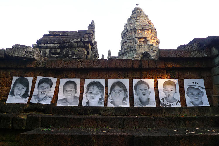 <p>Action in SiemReap, Cambodia, 2011-2012</p>