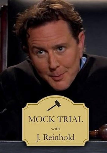 "<p><em>Mock Trial with J. Reinhold,</em> from a memorable third-season episode. (""All rise for host Judge Reinhold in this reality courtroom show, with music by American Idol's William Hung, as he puts families through mock trials."")</p>"