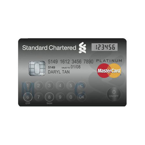 <p>MasterCard Display Card</p>