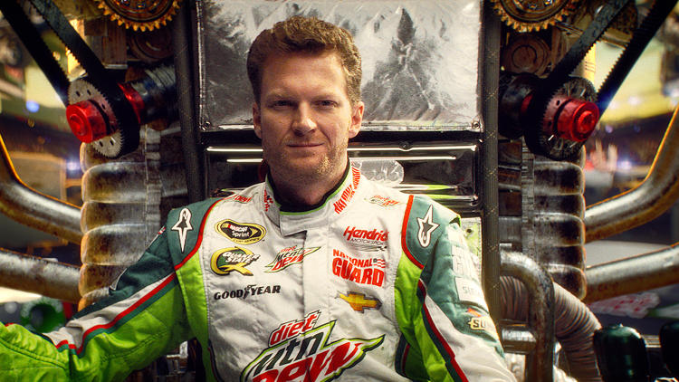 <p>Dale Earnhardt Jr.</p>