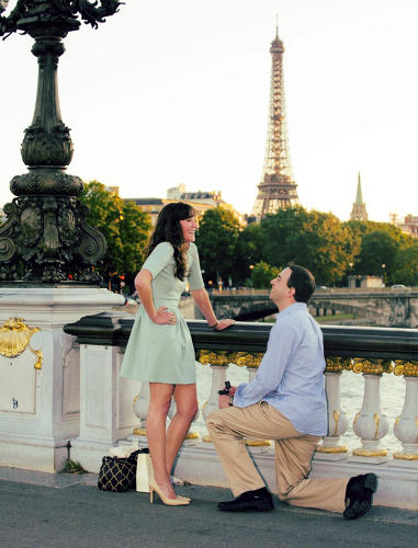 <p>Hired a photographer in Paris to <a href=&quot;http://twitter.com/Wx_Ben/status/354454305413148674/photo/1&quot; target=&quot;_blank&quot;>snap photos</a> of my proposal</p>