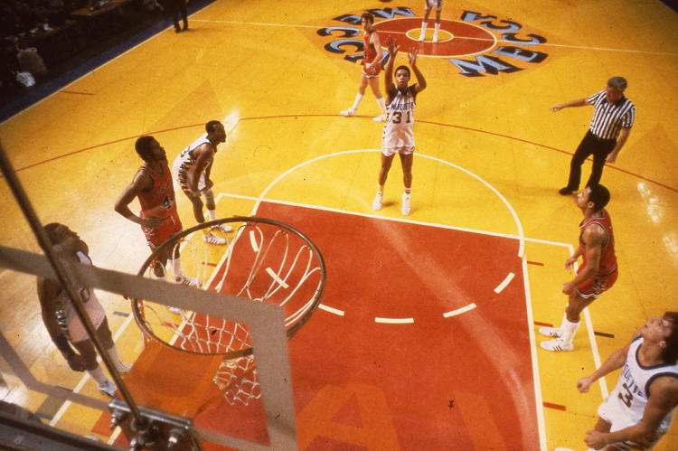 <p>The Bucks used the floor until they moved it to a different stadium in 1988. It was removed from the arena in 1997, and then, besides a brief mention of an auction, largely forgotten about.</p>