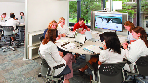 Collaborative Work In Classroom : How steelcase redesigned the st century college