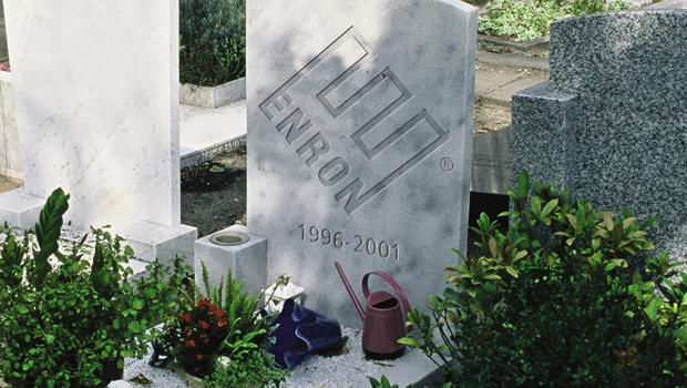 Image result for enron headstone