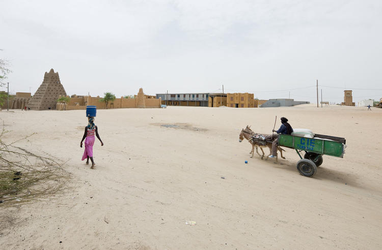 <p>Baan's work extends beyond the glossy world of contemporary architecture. He's interested &quot;in projects which make sense,&quot; he says. To that end, he has been documenting buildings in Africa. Here, a historic preservation center in Timbuktu, Mali</p>