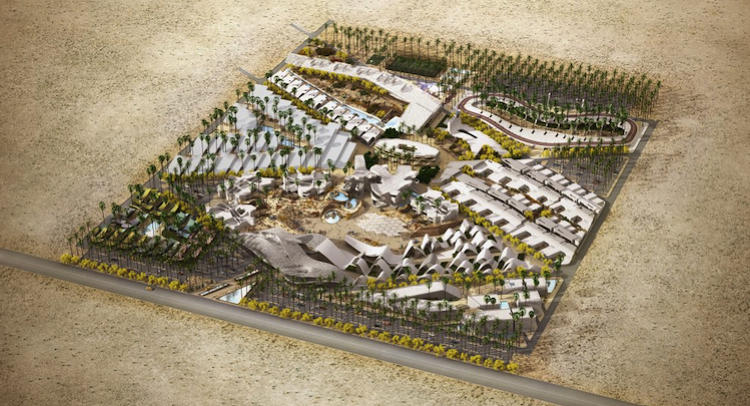 <p>BOOM! The $250 million development planned for outside Palm Springs.</p>
