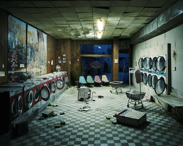 <p>No one meets cute in &quot;The City&quot;'s cinematically ruined laundromats. Huddle on the floor murmuring in horror? That's more like it.</p>