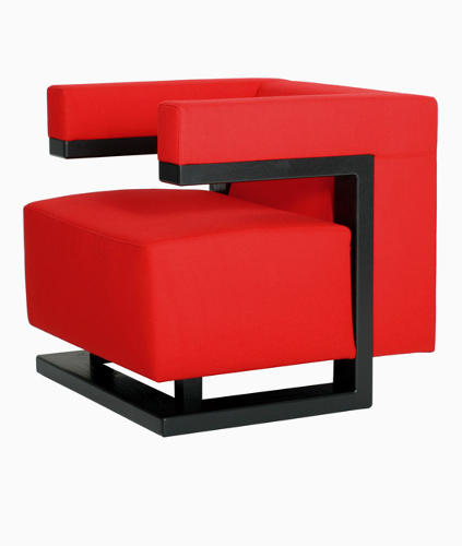 <p>Armchair No. F 51 by Walter Gropius (1920).</p>