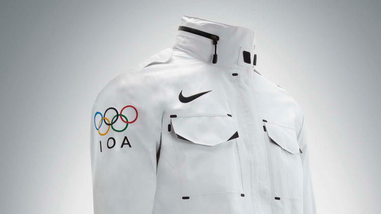 <p>Nike took a break from plastering its swoosh on every last square inch of London to develop a few cool custom products: These <a href=&quot;http://www.fastcodesign.com/1670404/nike-s-olympic-gear-for-athletes-without-countries#3&quot; target=&quot;_self&quot;>uniforms for athletes without countries</a> …</p>