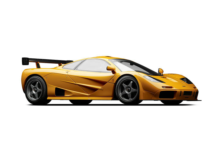 <p>McLaren built five F1 LMs in honor of the five McLaren F1 GTRs that finished the 1995 24 Hours of Le Mans (LM is for &quot;Le Mans&quot;). Whereas the classic F1 was designed for the road, the LM was designed explicitly for the racetrack. It weighs approximately 155 pounds less than the classic road version, has a powerful V12 BMW engine, and accelerates like mad, revving from 0 to 81 mph in 5.9 seconds.</p>