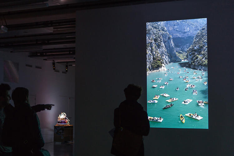 "<p>The most compelling videos are the ""kinetic paintings"" that patch together existing footage to create surreal visions of what leisure in 2062 might look like.</p>"