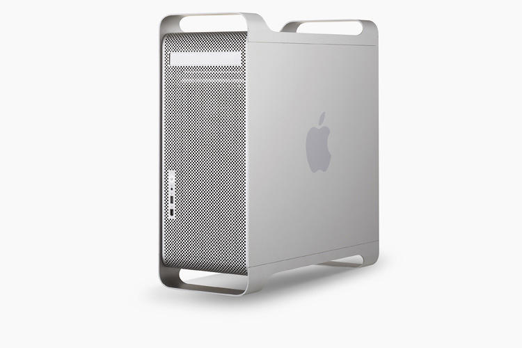<p>…the metal case of the 2003 Power Mac.</p>