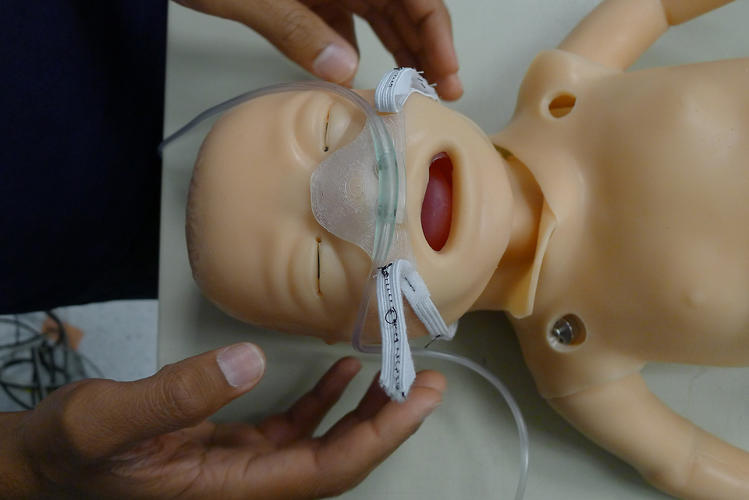 <p>Bubble CPAP is a common treatment for babies and older children suffering from life-threatening respiratory illnesses.</p>