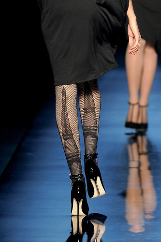<p>Panty hose from the F/W 2010-2011 couture collection.</p>