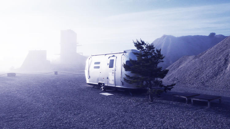 <p>Airstreams are in vogue everywhere, it seems. Fabriken Furillen has their own custom model on site.</p>