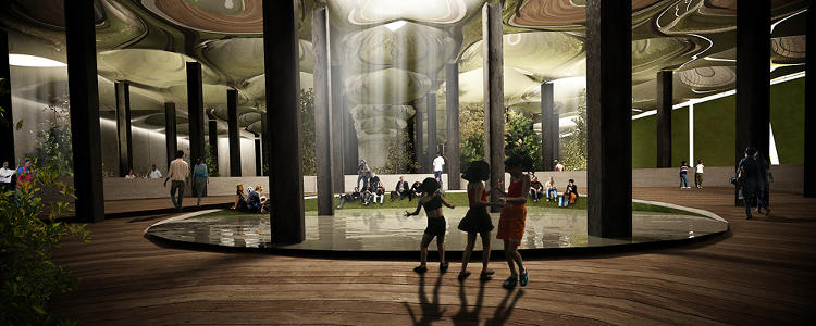 <p>The Lowline aims to be a safe, engaging environment for children and families year-round.</p>