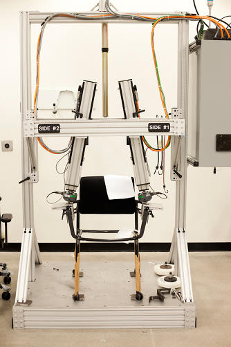 <p>The testing plant where chairs undergo decades of wear and tear, all within the span of days and months.</p>