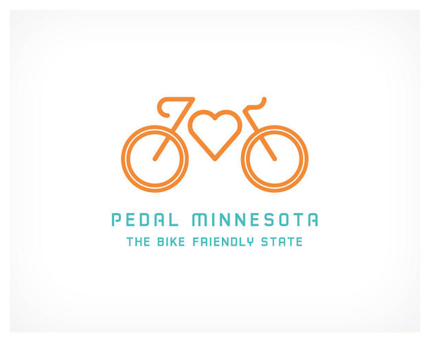 <p>The logo for Pedal Minnesota, a coalition of eight state-wide interest groups, courtesy of Minneapolis agency Colle+McVoy.</p>