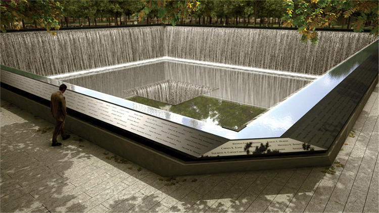 <p>At the 9/11 memorial, Jake Barton's Local Projects designed an algorithm to place victims' names near those of friends.</p>