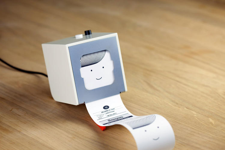 <p>Berg's recently released Little Printer.</p>