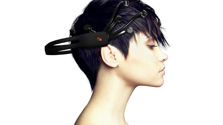 <p>Emotiv's EPOC is billed as a <br /> &quot;high resolution, neuro-signal acquisition and processing wireless neuroheadset.&quot; By tapping into electric signals produced by the brain, it detects player thoughts, feelings, and expressions. The device retails for $299.</p>