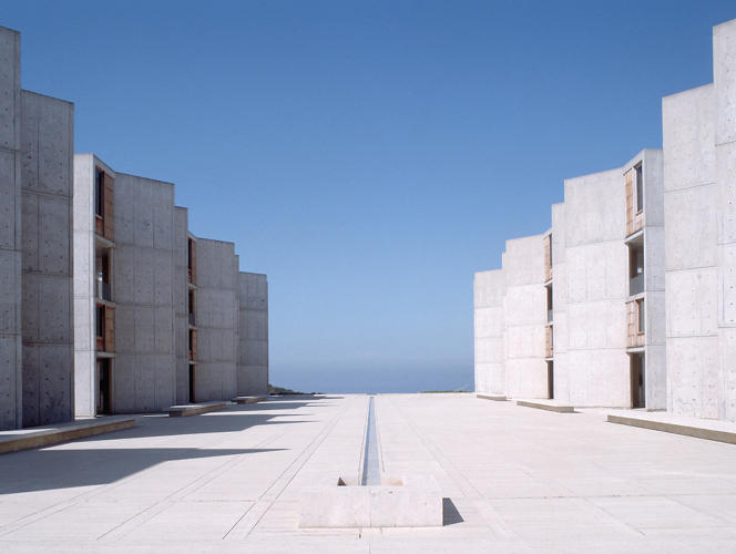 <p>&quot;One of the most highly regarded scientific research centres in the world, the Salk Institute sits on a cliff overlooking the Pacific Ocean. Founder Jonas Salk aimed to create an environment that would entice the best researchers from around the world. Kahn helped him to choose the site and created something approaching a secular monastery for science.&quot;</p>