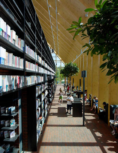 <p>But according to the architects, the shelf-life of an average library book is about four years, due simply to wear and tear. In comparison, sun damage is unimportant.</p>