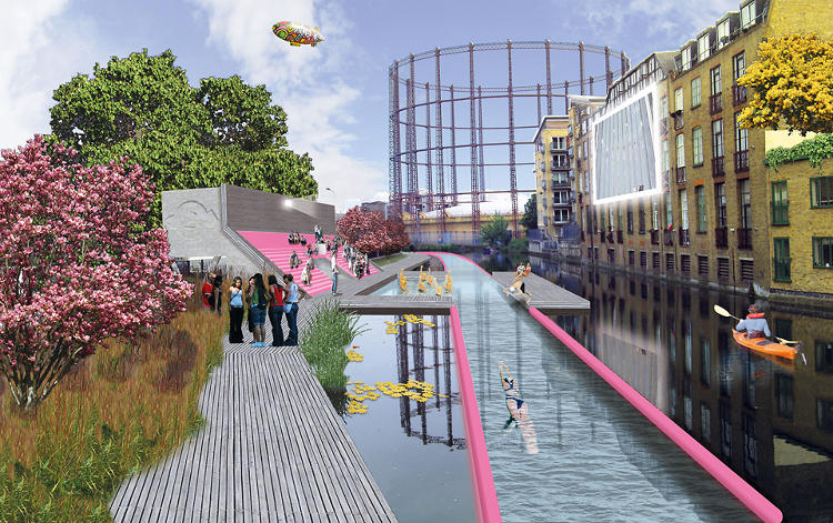 <p>The proposal is one of the shortlisted entries from a new competition to design a High Line-inspired urban reclamation project for London.</p>