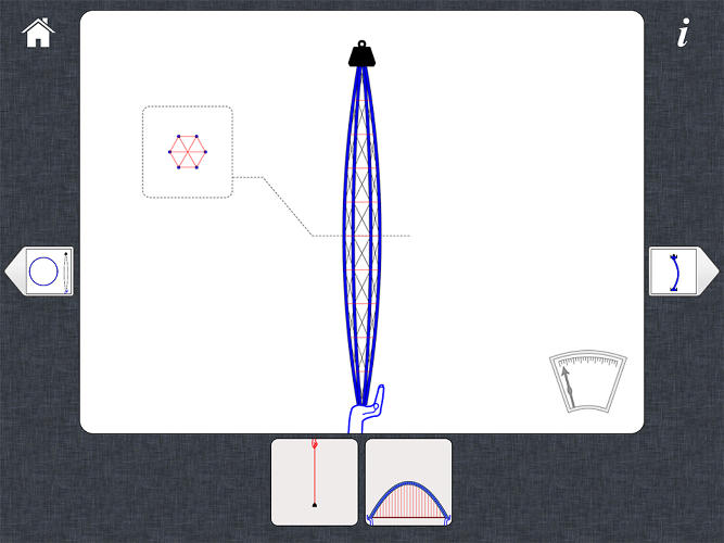 <p>The engineer's app includes a straightforward series of drawings and animations.</p>