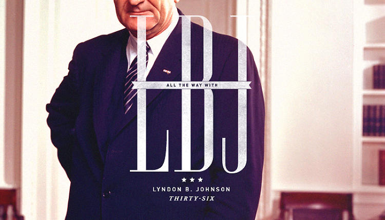 <p>LBJ's cropped top imparts some sense of his famously intimidating stature.</p>