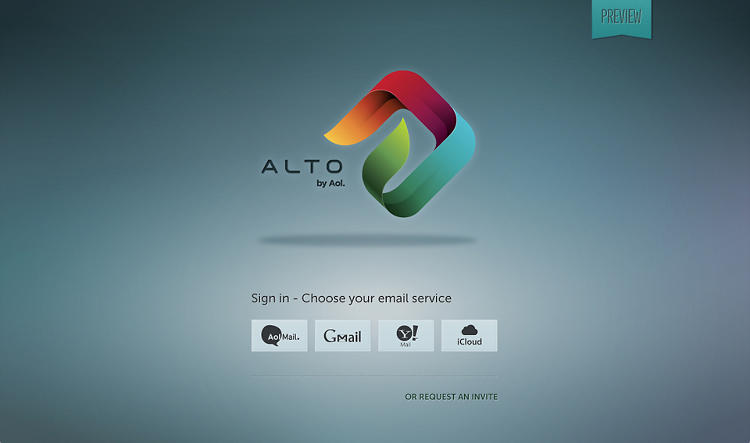 <p>Alto does not require an AOL email address, but rather works with services such as Gmail and Yahoo.</p>