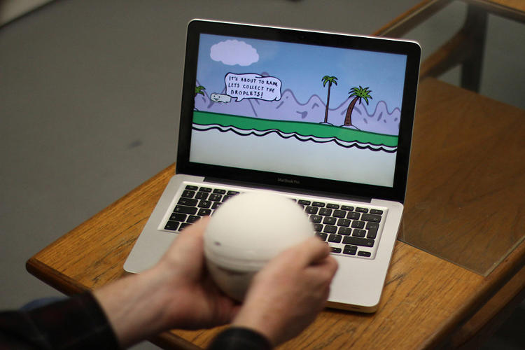 <p>Then, you play with the ball through a series of digital minigames, agitating the dough and helping fermentation take place.</p>