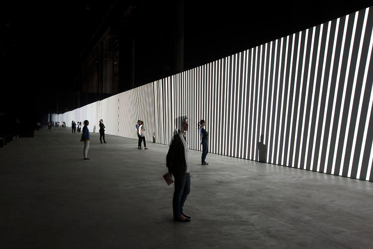 <p>The German artist says he wanted to explore the idea of &quot;losing one's sense of time…the proportion of a second, the proportion of a minute, the proportion of a minute within an hour, of an hour within a day, and so on.&quot;</p>