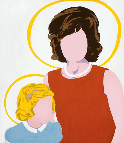 <p>Madonna and Child (1963) by Allan D'Arcangelo.</p>