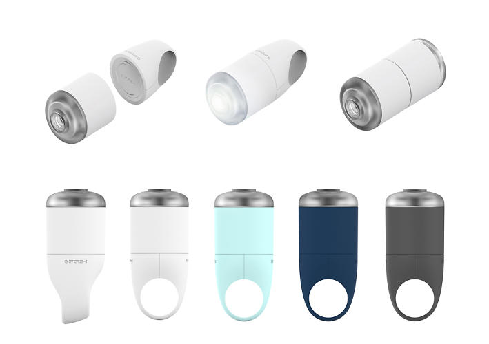 <p>iFlash, a new light from Danish product designers KiBiSi, attempts to corner the crowded bike light market.</p>